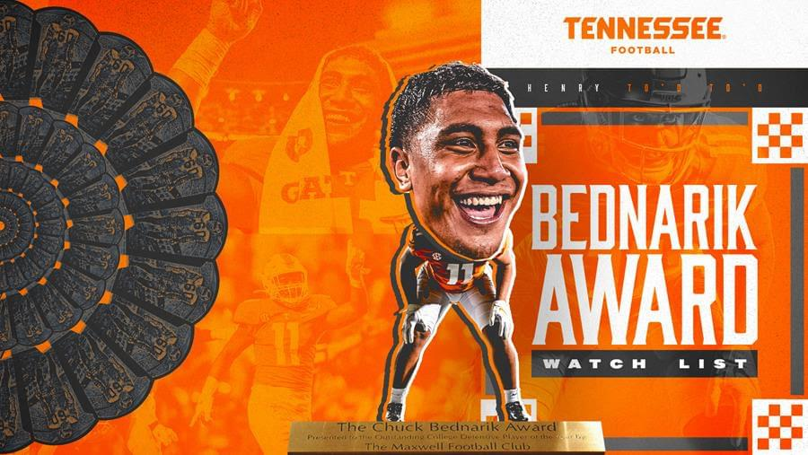 Henry To'o To'o Earns Spot on Bednarik Award Watch List