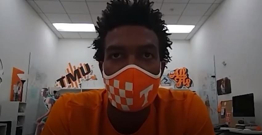 Video: Josiah-Jordan James on Victor Bailey, tough coaching, covid-19, new teammates