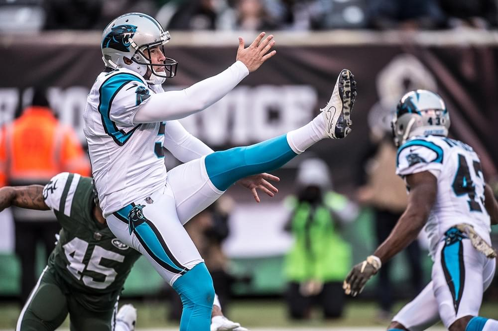 Panthers' Palardy out for the season, Williams cut by Titans; VFL in NFL update and list