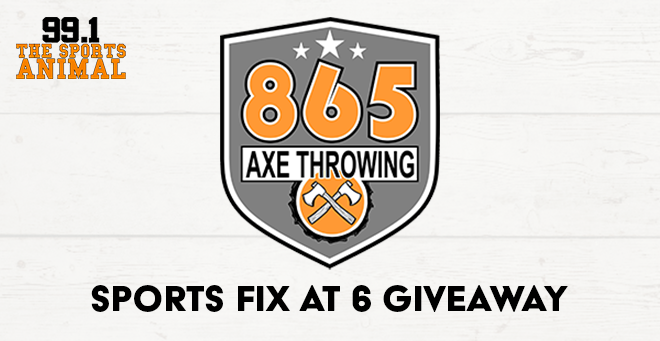 865 Axe Throwing Sports Fix at 6 Giveaway