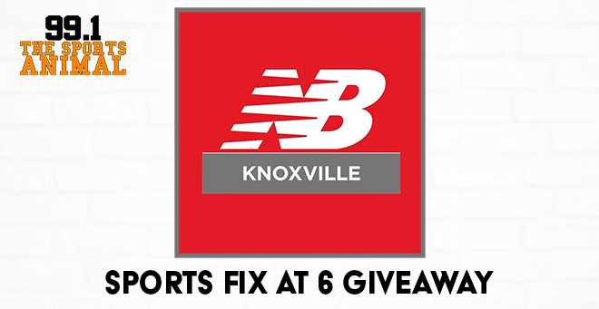 New Balance Knoxville Sports Fix at 6 Giveaway