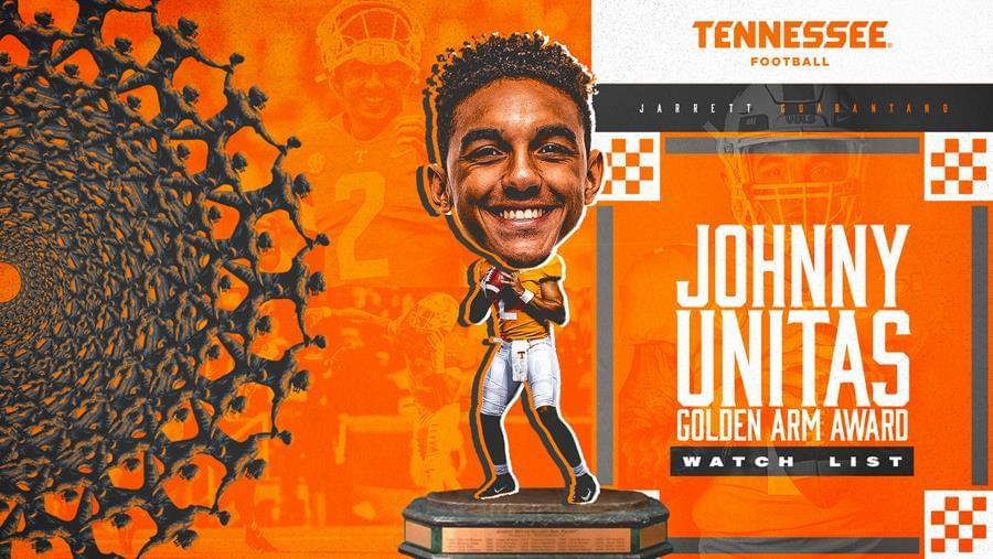 Guarantano Named to Johnny Unitas Golden Arm Award Watch List
