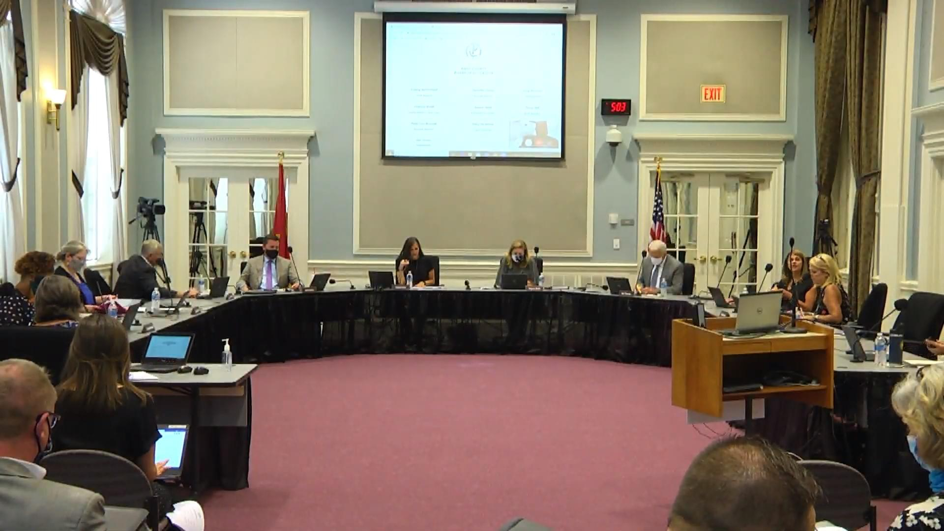 Mask Policy Proposed to Knox County School Board