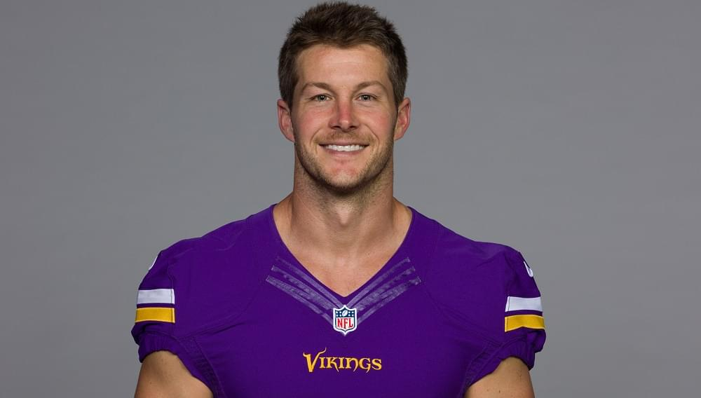 "Britton Colquitt on 2020 Vikings ""It is exciting. This has the makes for a good run."""