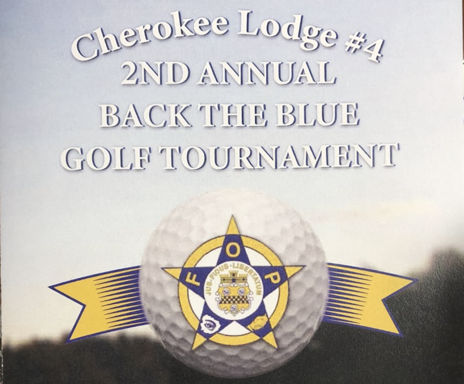 Cherokee Lodge 2nd Annual Back the Blue Golf Tourney