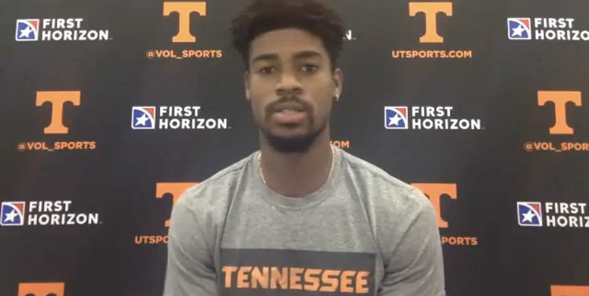 "VIDEO: Victor Bailey Jr. on choosing Tennessee, ""The culture."""