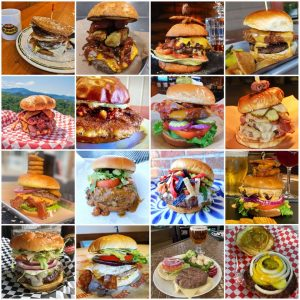 16 Specialty Burgers During GatlinBURGER Week All for just $7