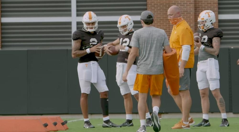 VIDEO: Tennessee football fall practice 15