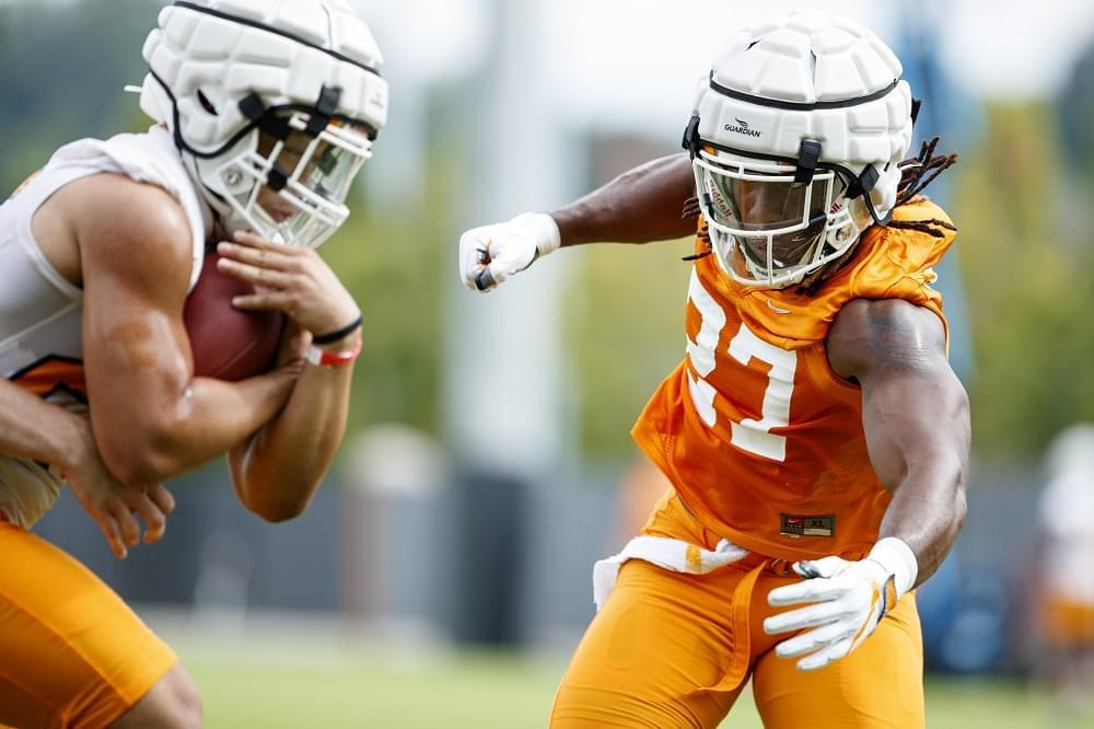 Vols LB Quavaris Crouch media availability transcript