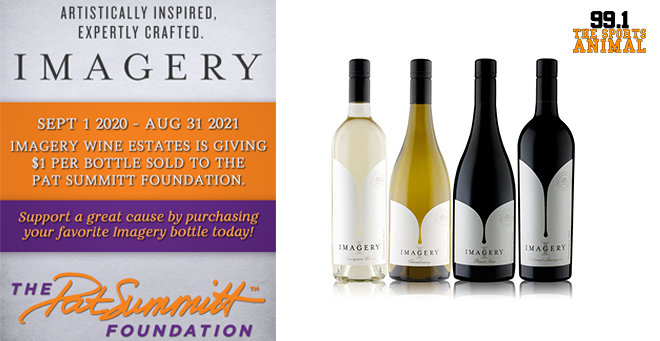 Imagery Wine Donating Wine Sales to Pat Summitt Foundation