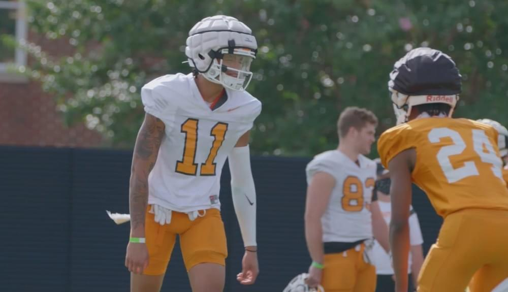 VIDEO: Tennessee Football Fall Practice 16