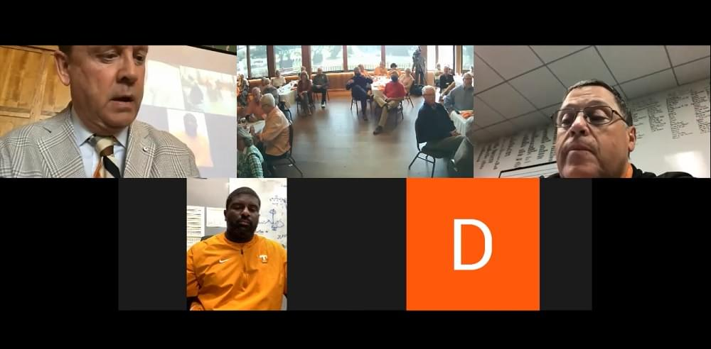 WATCH: Vols DC Ansley, OC Chaney at Knoxville Quarterback Club