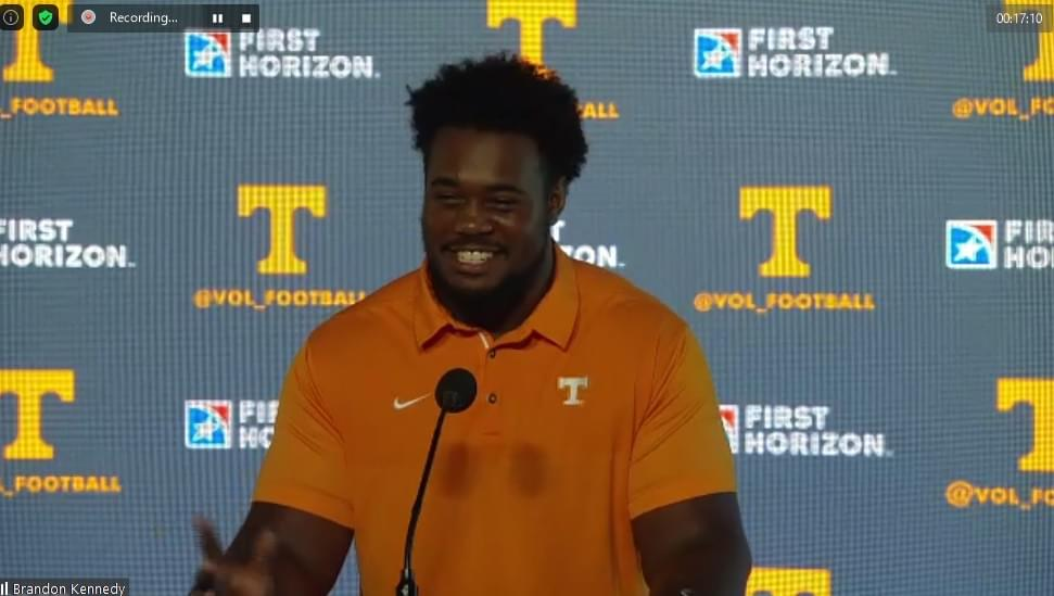 WATCH: Kennedy thinks OL chemistry is better, asked about 7th year of eligibility