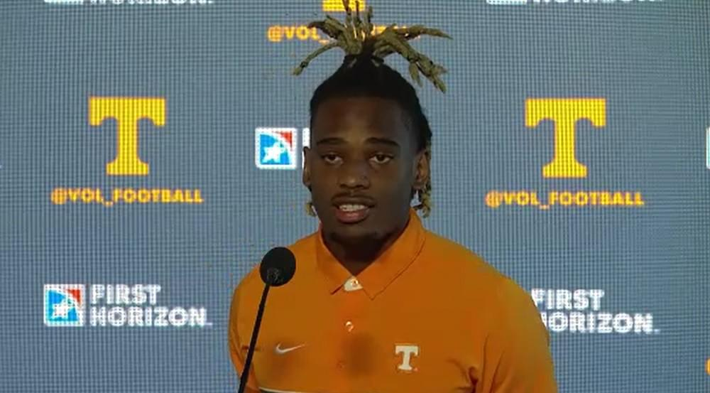 WATCH: Gray agrees with Henry T that Vols have best RBs in country, says D is also the best