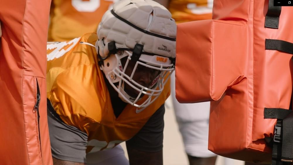 WATCH: Tennessee Football South Carolina Week Tuesday Practice