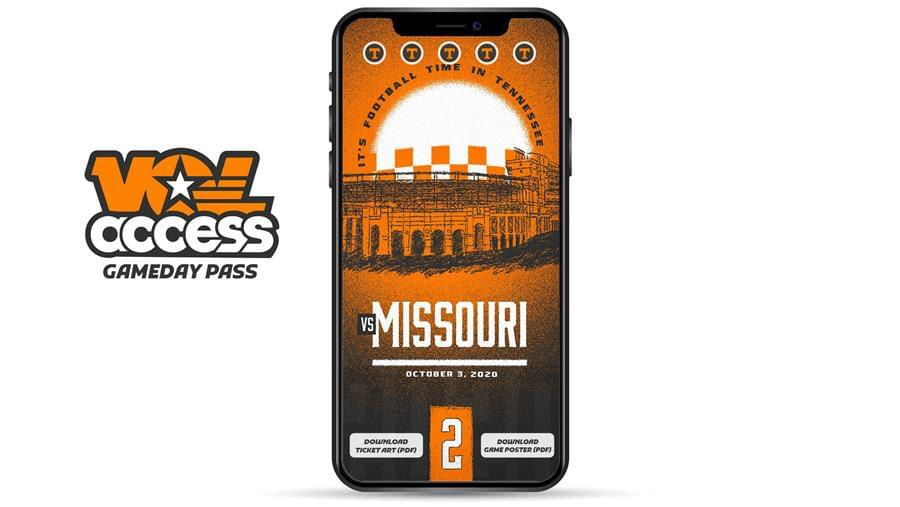 Tennessee Athletics Launches Vol Access Gameday Pass Ahead of Season-Opener