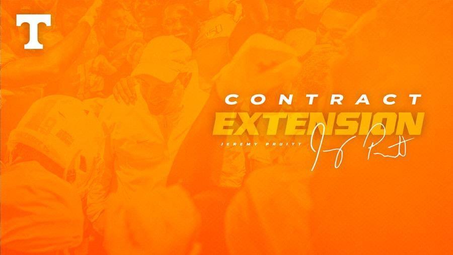 Head Coach Jeremy Pruitt Receives Contract Extension Through 2025 Season