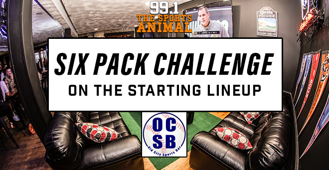 Six Pack Challenge on The Starting Lineup
