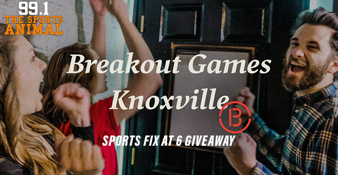 Breakout Games Sports Fix at 6 Giveaway