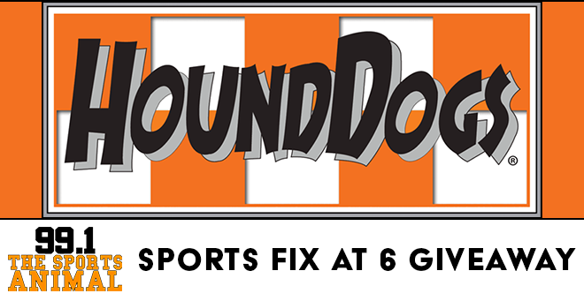 HoundDogs Sports Fix at 6 Giveaway