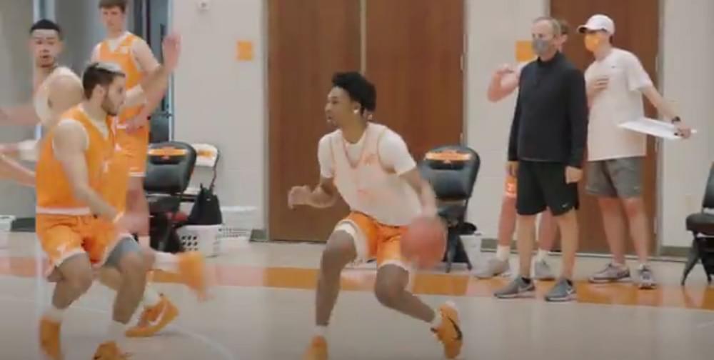 WATCH: Tennessee Basketball Preseason Practice