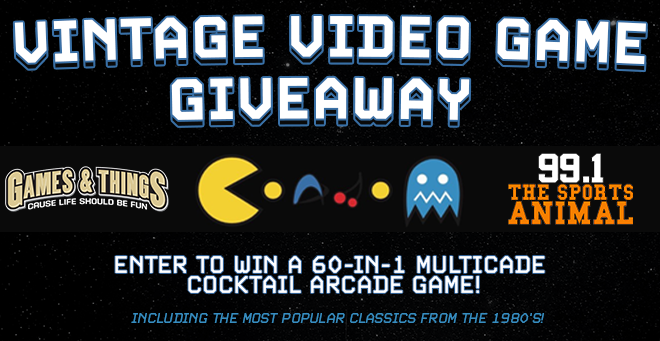 Games & Things Vintage Video Game Giveaway