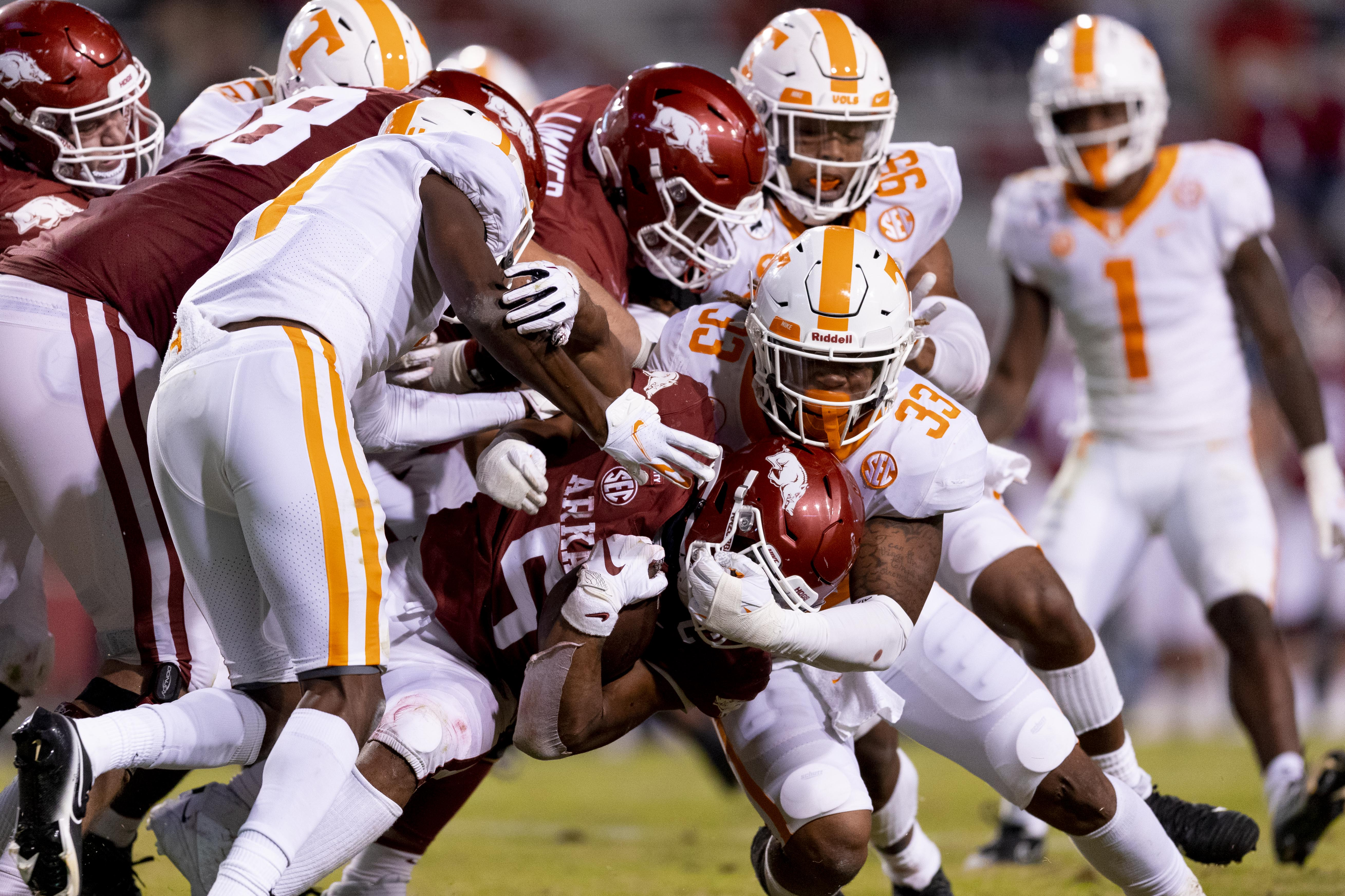 PHOTO GALLERY: Tennessee at Arkansas Game Photos