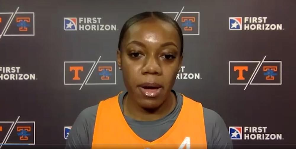 "WATCH: Lady Vols Walker on transferring to UT ""It's been an amazing experience thus far"""