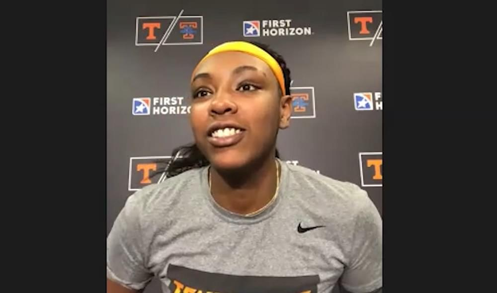 "WATCH: Lady Vols Horston on UConn matchup ""I'm ready for that game"""