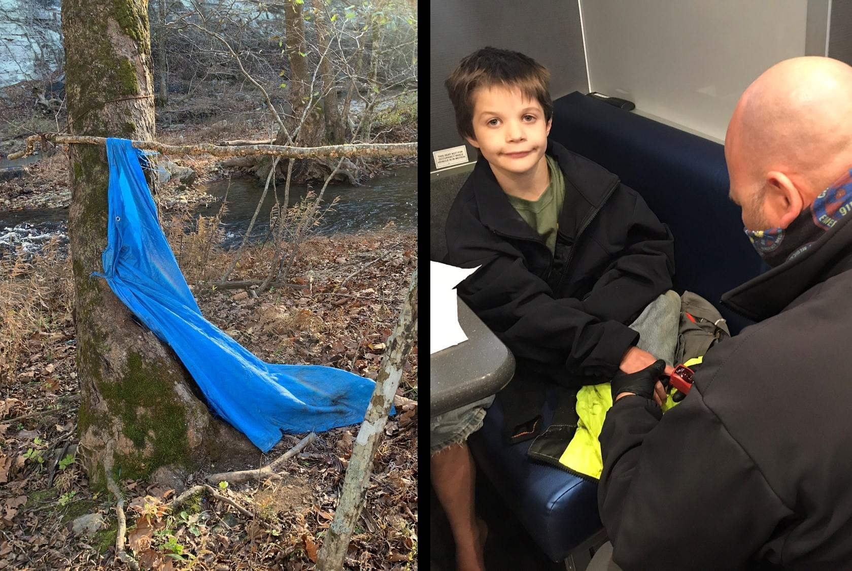 Missing Middle TN Boy Built Shelter to Survive
