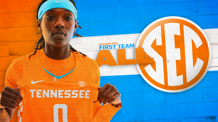 Coaches Preseason First Team For Lady Vols Basketball's Davis