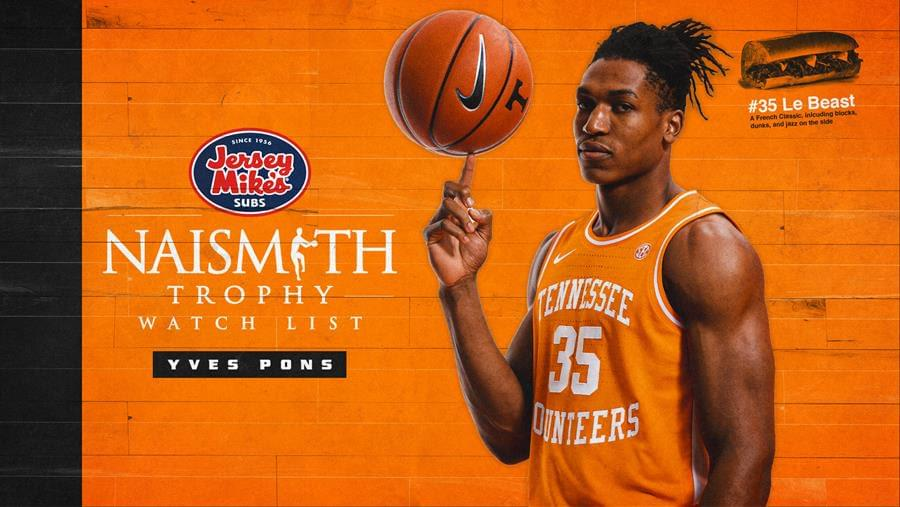 Pons Earns a Spot on Naismith Trophy Watch List