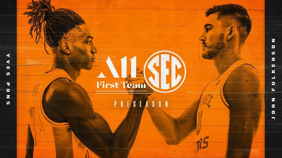 Pons, Fulkerson Land on Coaches' Preseason All-SEC First Team