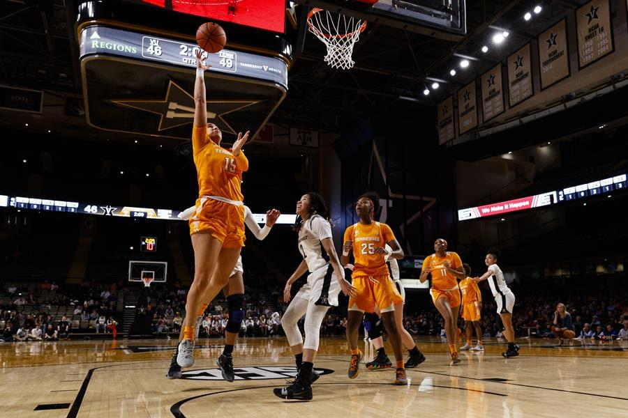 SEC Network shares select slate of televised Lady Vols games