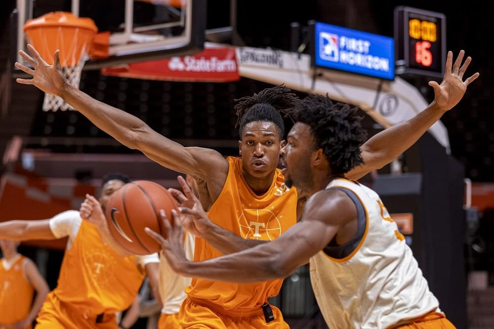 PHOTO GALLERY: Tennessee Basketball Practice