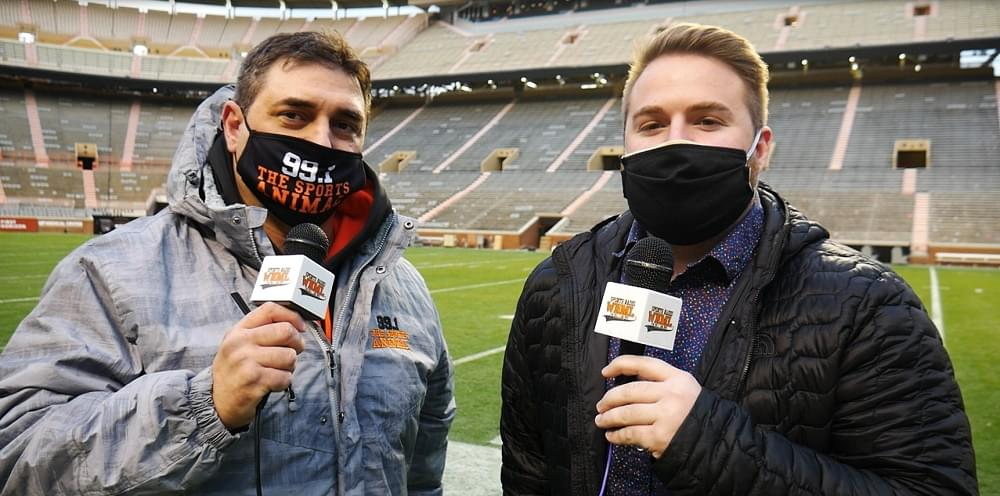 WATCH: 99.1 The Sports Animal postgame field report on Aggies-Vols
