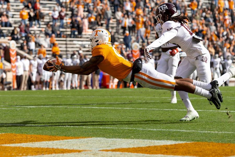 Vols Fall To #5 Aggies 34-13, finishes 3-7 in regular season