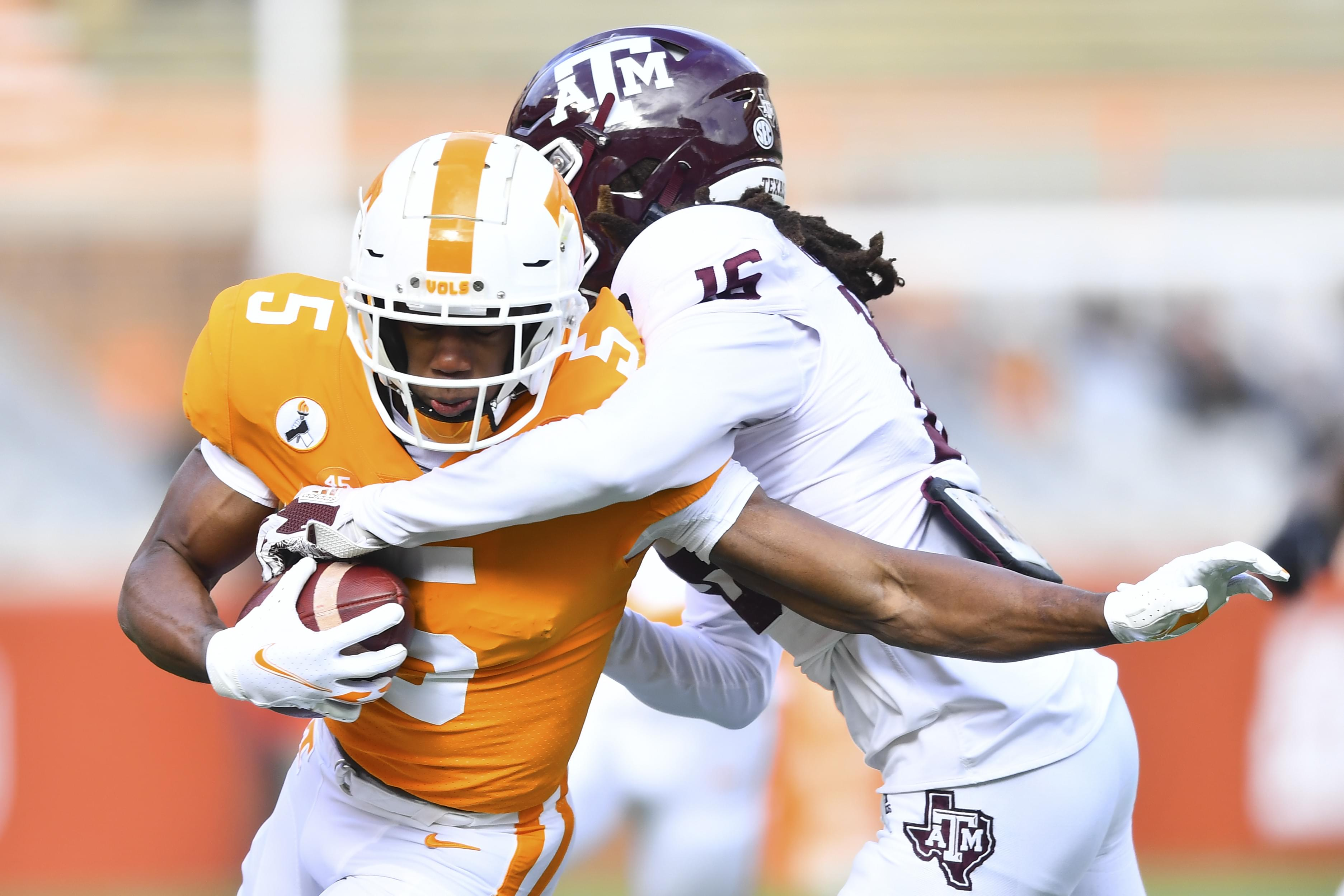 PHOTO GALLERY: Tennessee vs. Texas A&M, seniors and game images