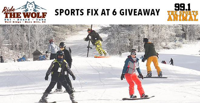 Wolf Ridge Ski Resort Sports Fix at 6 Giveaway