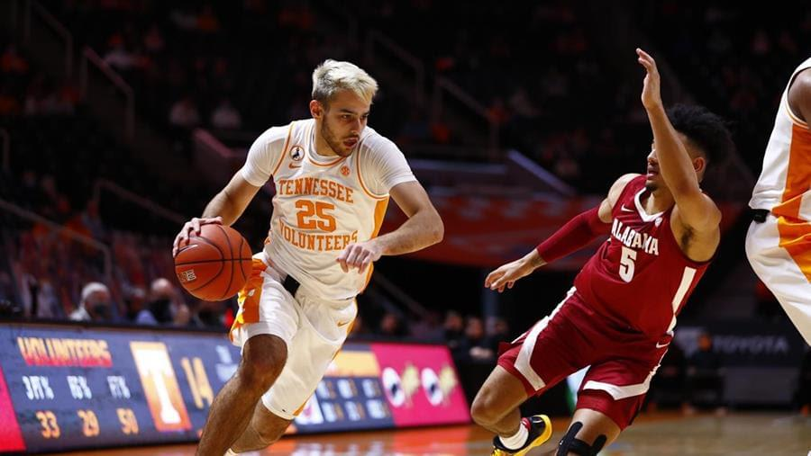 #7 Vols lose for 1st time, 71-63 to Alabama in SEC Home Opener
