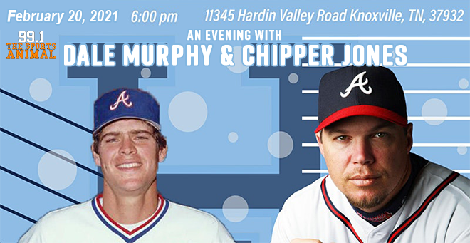 An Evening with Dale Murphy and Chipper Jones