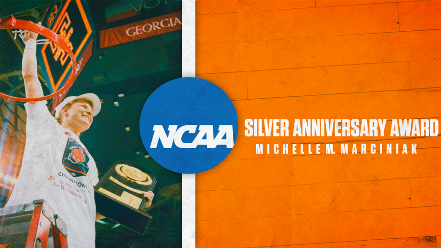 NCAA selects Michelle M. Marciniak for silver anniversary award
