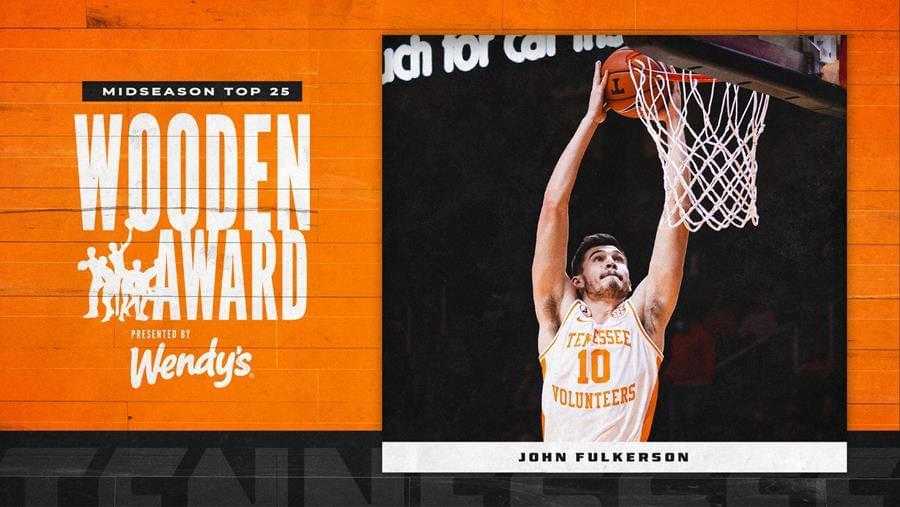 Fulkerson Named to Wooden Award Midseason Watch List