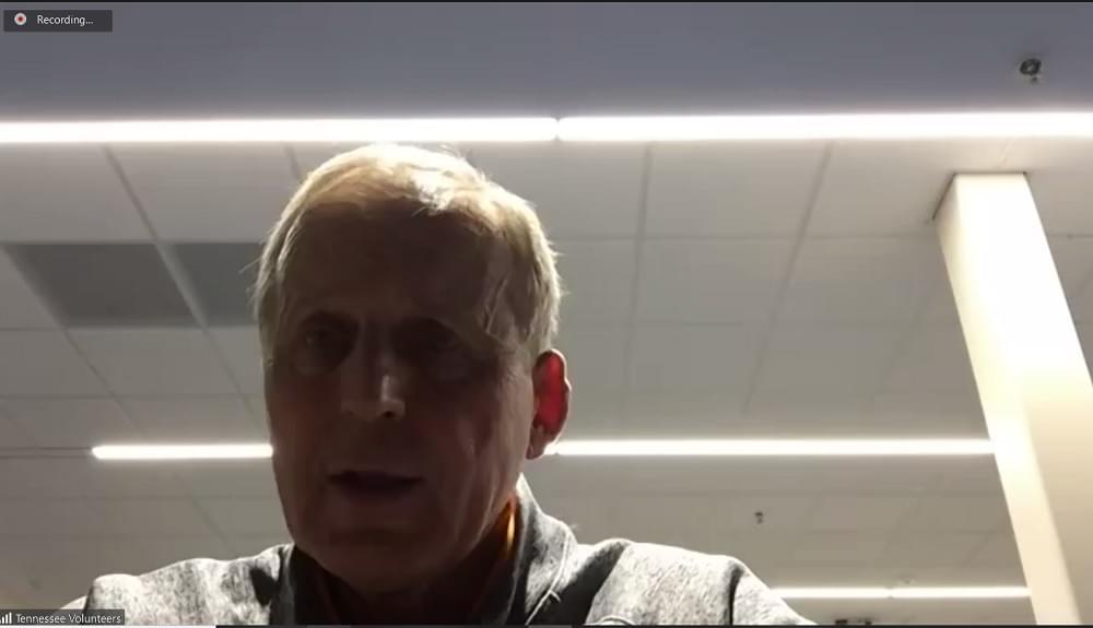 WATCH: Barnes extremely upset with his team after blow-out loss at UF; talks football/Fulmer