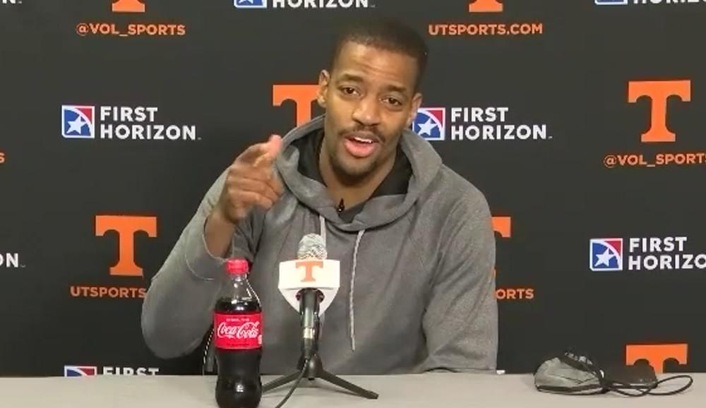 """WATCH: Kim English """"I'm going to have a hard talk with the guys about what it actually means to be a leader on a team"""""""