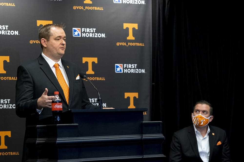 Audio/Quotes: National, Regional, Sports Animal Reaction to Josh Heupel; Several Interviews on UT's Hire