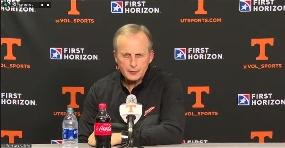 WATCH: Rick Barnes postgame after 89-81 win over Georgia