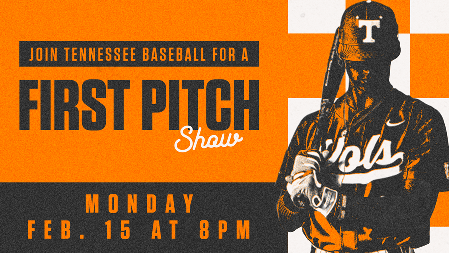 Tennessee Baseball to Host Virtual First Pitch Season Preview Show