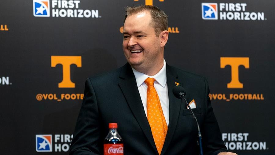 Heupel Finalizes Tennessee Offensive Coaching Staff