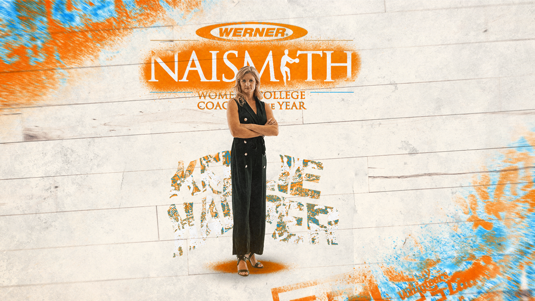 Harper on Werner Ladder Women's Naismith Coach of the Year late season list